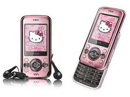 Телефон Hello Kitty Sony